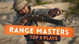 ► LONG RANGE SNIPER MASTERS! - Battlefield 1 Top 5 Plays || Episode 3