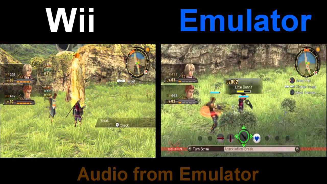 Wii Roms Google: Xenoblade Chronicles Comparison