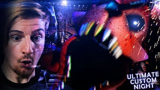 THIS IS TOO MUCH.. (+ 25/20 mode win) || FNAF: Ultimate Custom Night