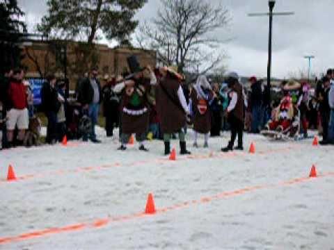 Human Dogsled Ogden Winter Fest 2010