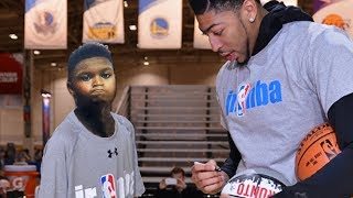 Zion Williamson Blasts Anthony Davis & John Wall For Dissing Him When He Asked For An Autograph
