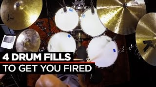 4 Crazy Fast Drum Fills by Buddy Rich & Dennis Chambers
