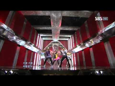 F(x) - Nu ABO (에프엑스 - Nu 예삐오) @ SBS Inkigayo 인기가요 100509