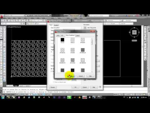 autocad 2013 tutorial en español 15 : hatch
