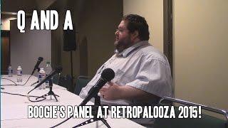 Q and A Panel at Retropalooza 2015!
