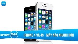 iPhone 4S và iPhone 4 - Máy nào nhanh hơn?