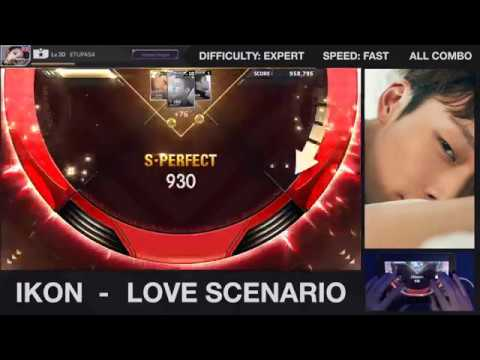 [BeatEVO YG] iKON - Love scenario 사랑을 했다 (Expert 100% ALL COMBO)
