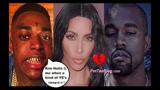 Kodak Black Wants Kim Kardashian to Leave Kanye West for Him! Split Up EGGED on by Elle Magazine 💔