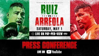 Main Event Press Conference – Watch Live | #RuizArreola