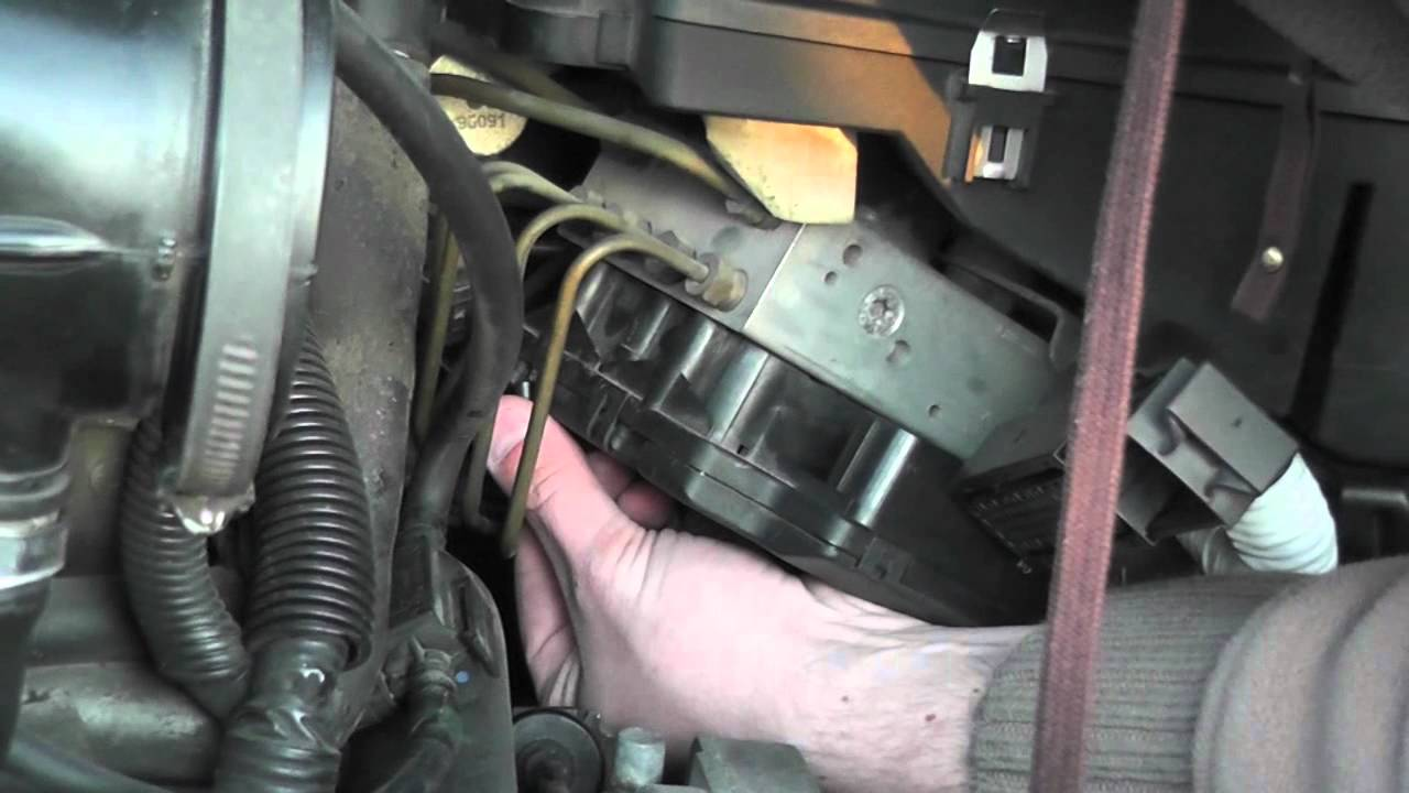1999 Volvo S80 Abs Module Removal And Installation Youtube