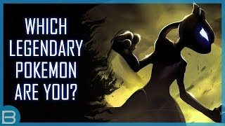 Which Legendary Pokemon Are You?