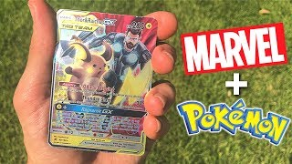 Marvel Avengers Inspired Pokemon Cards Opening!