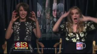 Jennifer Beals and Zoey Deutsch interview on CBS