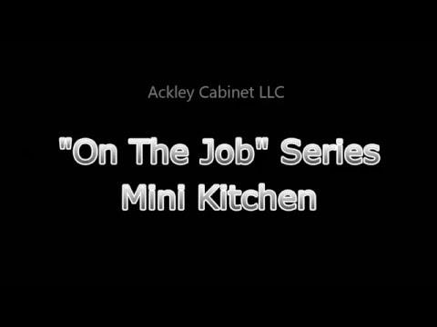 Ackley Cabinet - Mini Kitchen Setup