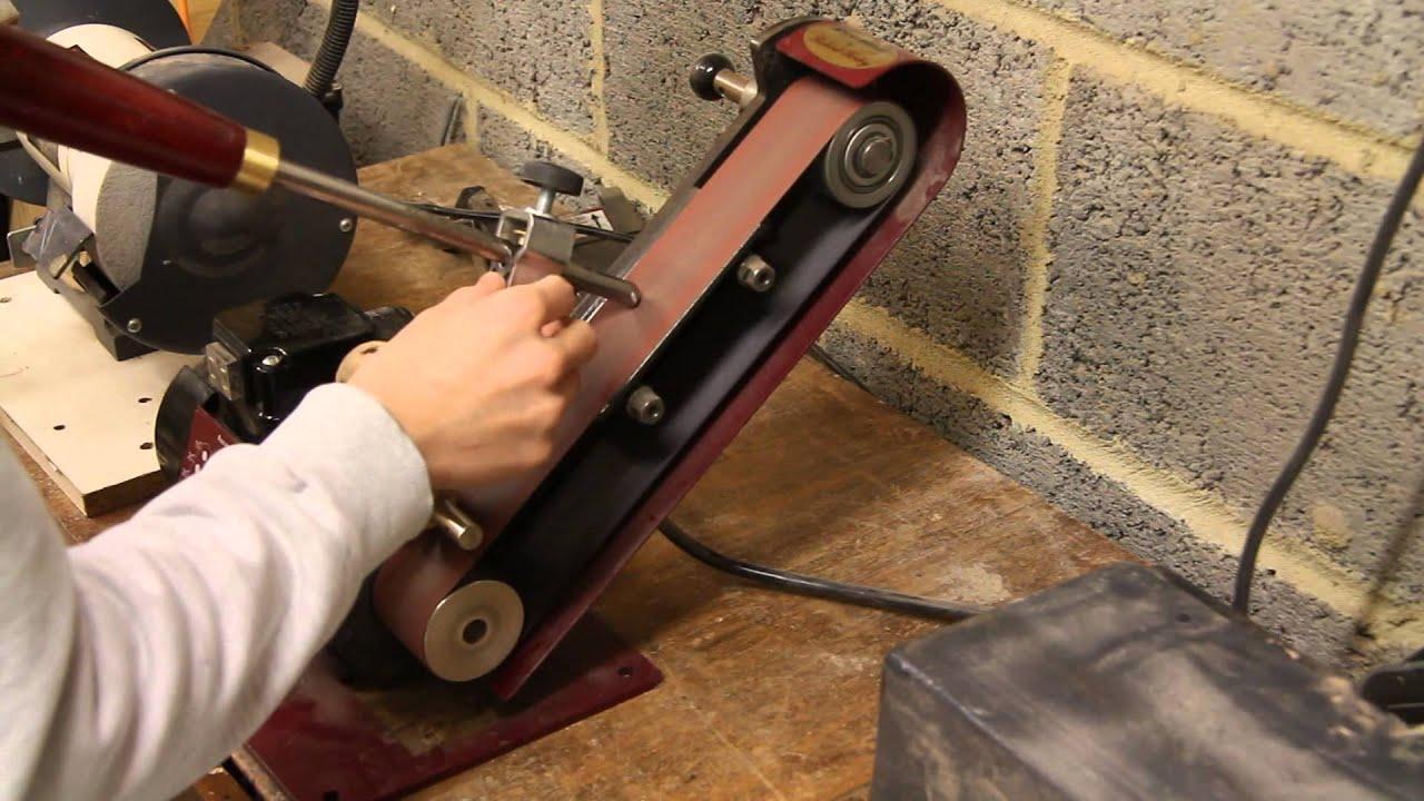 Sharpening Woodturning Tools Youtube