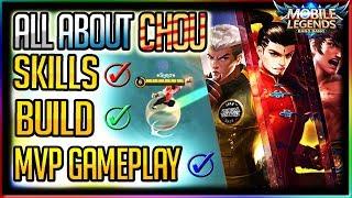 Chou Skills, Builds & Emblem Explanation + Perfect Chou Gameplay #21 [Eng Subtitle]