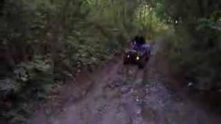 Quadbiking offroad