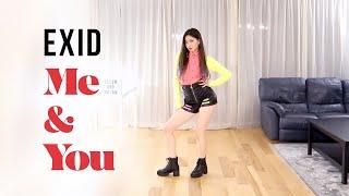 EXID - 'ME&YOU' Dance Cover   Ellen and Brian