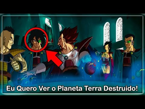 O SAIYAJIN DO MAL CHEGA AO PLANETA TERRA | HISTÓRIA ALTERNATIVA (PART 1)