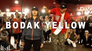 """BODAK YELLOW"" - Cardi B Dance | Matt Steffanina ft Bailey Sok"