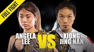 Angela Lee vs. Xiong Jing Nan 2 | ONE Full Fight | October 2019