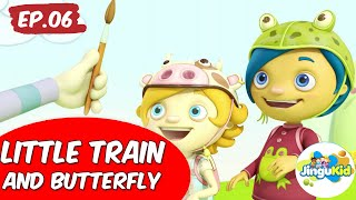 Van Dogh English | Little Train And Butterfly | Preschool Learning Videos
