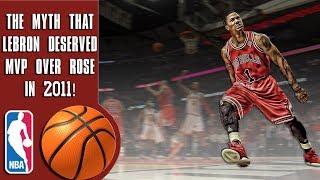 The myth that Lebron James deserved MVP over Derrick Rose in 2011