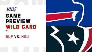Buffalo Bills vs Houston Texans Wild Card Weekend Game Preview