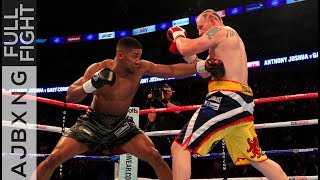 Full Fight | Anthony Joshua Vs Gary Cornish TKO