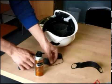 HC1 in Gallet F1S helmet installation part 2