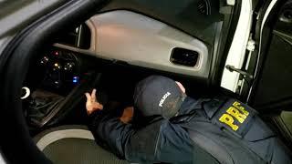 Casal de traficantes com 3 quilos de cocaína é preso pela PRF na BR-290, em Eldorado do Sul