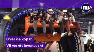 Deze virtual reality-achtbaan komt snel naar Nederland