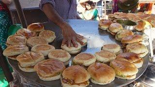 SUPER FAST Cooking Skills | FASTEST DABELI MAKER | Kacchi Dabeli - Indian Street Food