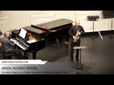 Dinant 2014 - ARIZA Alvaro (Concierto Capriccio by Gregori Markovich Kalinkovich - Version DINANT)