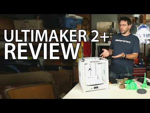 video Ultimaker 2 Plus