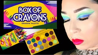 Box Of Crayons Ishadow Palette | Swatches | Demo
