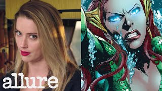 Justice League's Amber Heard Explains the Women Superheroes of DC Comics | Allure