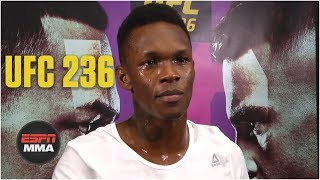 Israel Adesanya: Anderson Silva was harder to prepare for | UFC 236 | ESPN MMA
