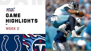 Colts vs. Titans Week 2 Highlights | NFL 2019