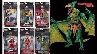 Marvel Legends Sauron BAF Wave Official X-Men Deadpool Action Figure Toy Images Revealed