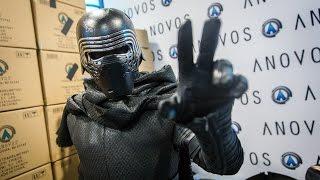 Adam Savage as Kylo Ren Incognito at Comic-Con 2016!
