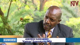 TUWAYE: Andrew Kangaho, Kadogo eyasooka mu NRA