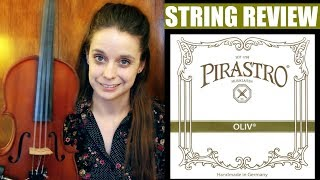 Pirastro Oliv (Gut) Violin Strings - Review | Katy Adelson