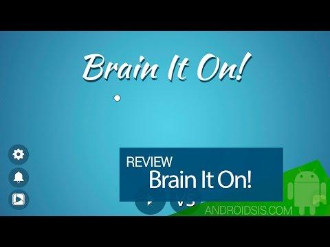 Brain It On! analizamos el mejor juego de puzles para Android