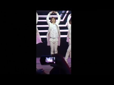 [Fancam] 140419 EXO-M - Overdose (Luhan focus) @ 全球中文音乐榜上榜 Global Chinese Music