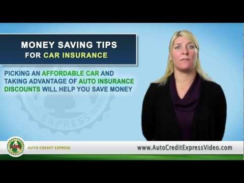 Money Saving Tips for Car Insurance