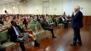 Palestra de Alexandre Garcia (trechos) no Colégio Militar de Porto Alegre.