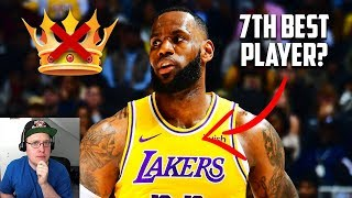 Reacting To Is Lebron James No Longer The Best Player In The NBA