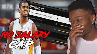 I Turned Off Salary Cap in NBA 2K19... and this is what happened