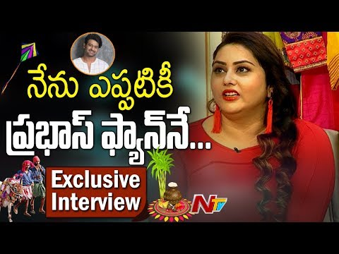 Namitha & Her Husband Veerendra Chowdary's Exclusive Interview -Sankranti Special